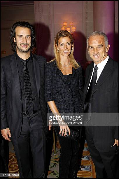 Le Realisateur Gilles Paquet Brenner Madame Brice Hortefeux Alain Terzian at Gala Evening For The 40th Anniversary Of The Claude Pompidou Foundation