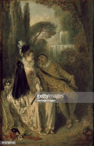 Le Repos Gracieux circa 1713 Artist JeanAntoine Watteau