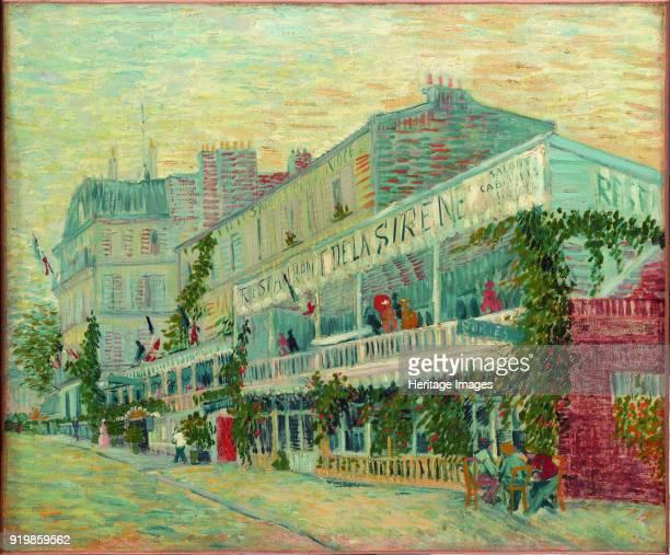 Le Restaurant de la Sirène à Asnières 1887 Found in the collection of Musée d'Orsay ParisFine Art Images/Heritage Images/Getty Images