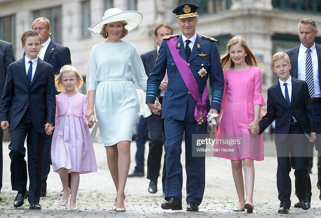 Te Deum for National day / Brussels : News Photo