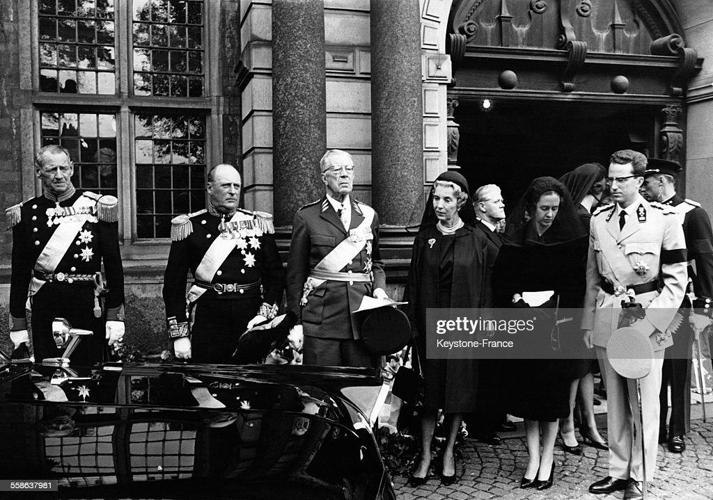Funérailles Du Prince Axel De Danemark : News Photo