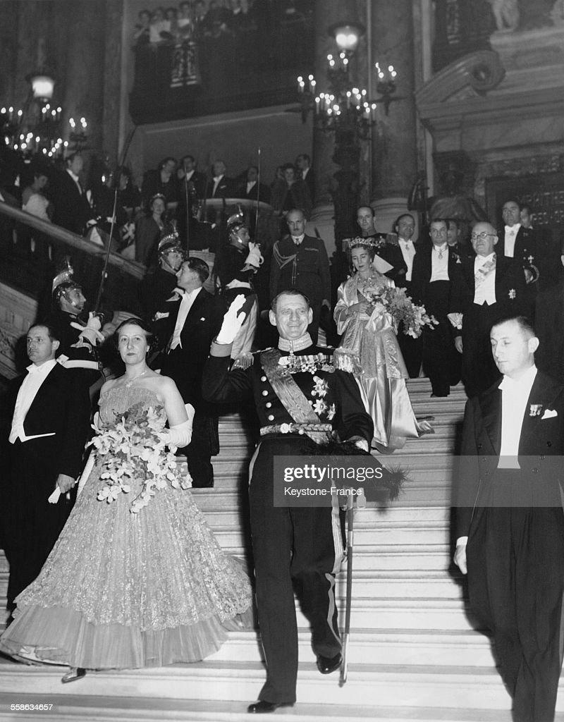Le Roi Frederik A L Opera De Paris : News Photo