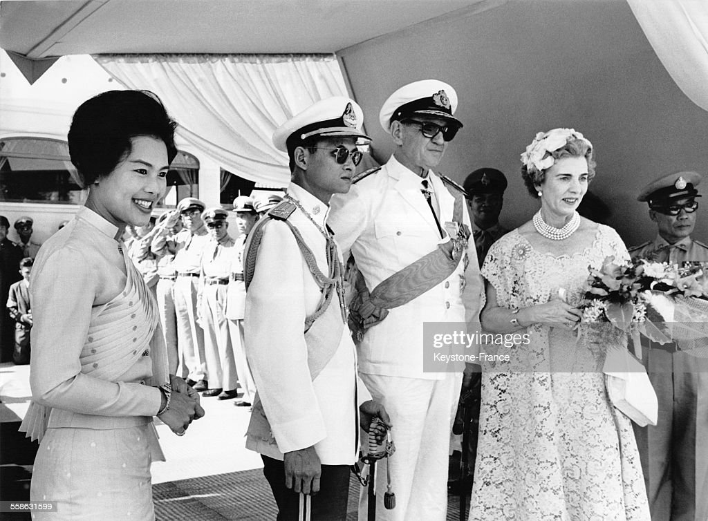 Visite Officielle Du Couple Royal Danois En Thailande : News Photo