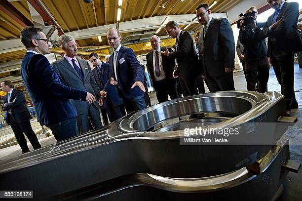 Le Roi Philippe en visite de travail en Communauté Germanophone Cette visite sera consacrée principalement à la formation en alternance et aux...