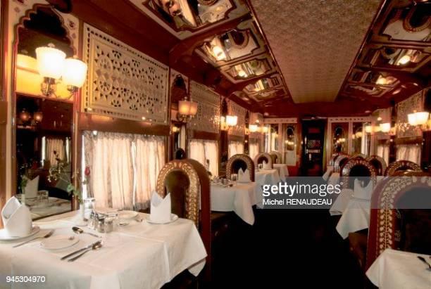 Le Royal Orient Express est un vritable palais sur roues qui traverse le Rajahstan depuis Delhi jusqu' Ahmedabad Le Royal Orient Express est un...