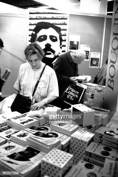 Le salon du livre de 1988 à Paris en France