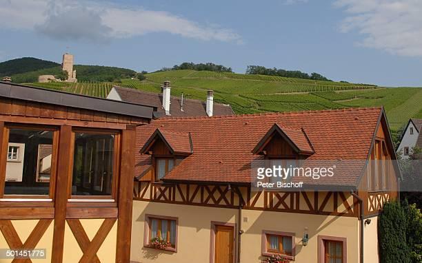 Le Schlossberg Weingut 'Vincent Spannagel' Katzenthal Elsass Frankreich Europa Weinanbau Reise BB DIG PNr 1023/2007