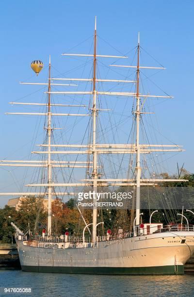 Le Suomen Joutsen, voilier trois-mâts, à Turku, Scandinavie, Finlande.