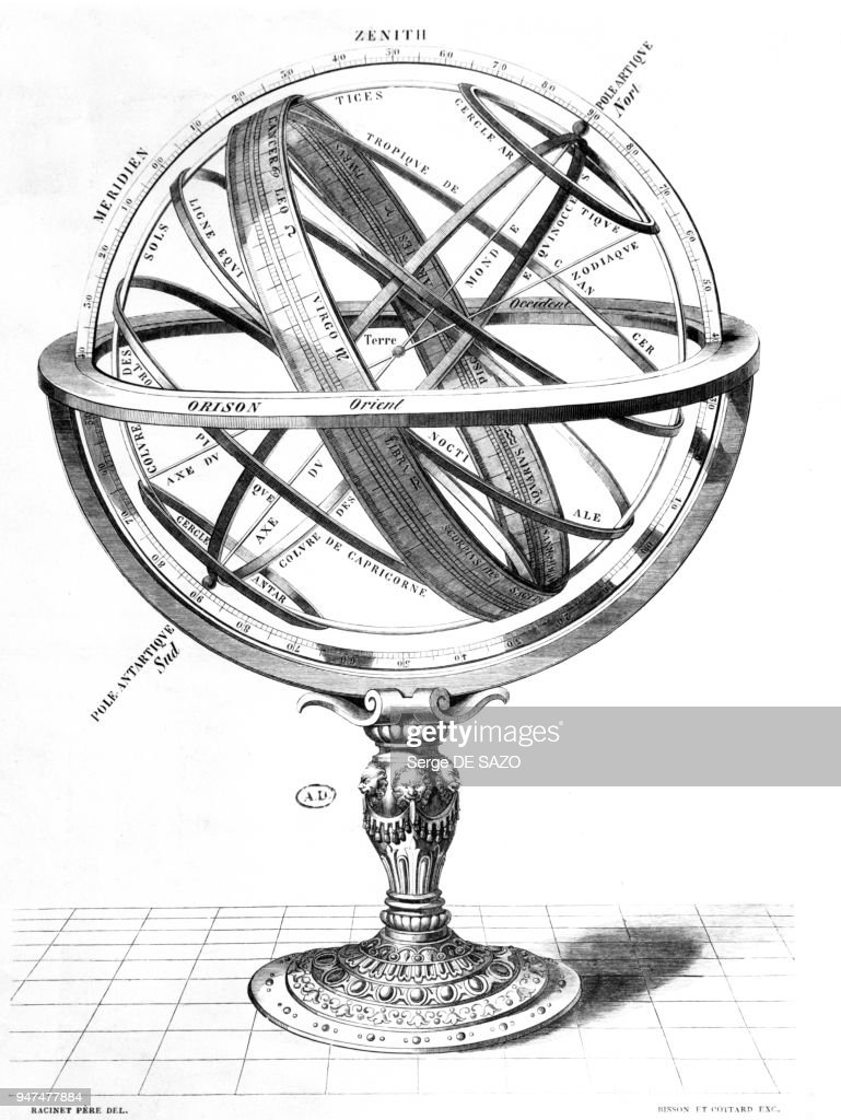 Le Systeme Du Monde D Apres L Astrologue Grec Claude Ptolemee News Photo Getty Images
