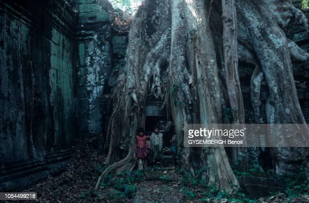 Le TA PROHM est un temple construit selon le style du Bayon à la fin du XIIème siècle Son nom signifie grandpère Brahma Situé à un kilomètre à l'est...
