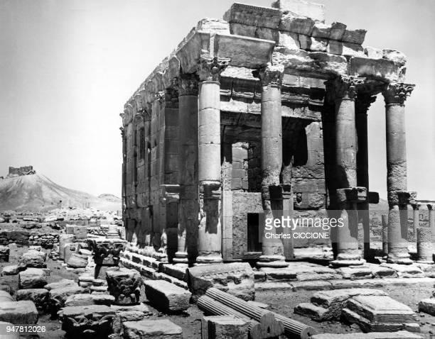 Le temple voué au dieu Baal de la cité antique de Palmyre, Syrie.