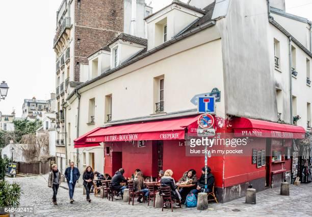 Le Tire Bouchon in Montmartre, Paris.