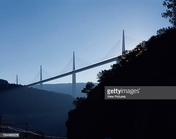 Le Viaduc De Millau Millau France Architect Foster And Partners Le Viaduc De Millau Bridge Viaduct Afternoon From East