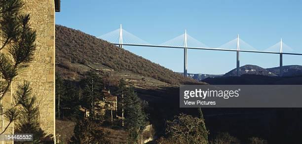 Le Viaduc De Millau Millau France Architect Foster And Partners Le Viaduc De Millau Bridge Viaduct Evening View From West