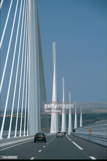 Le Viaduc De Millau Millau France Architect Foster And Partners Le Viaduc De Millau Bridge Viaduct Road Deck Shot From Car
