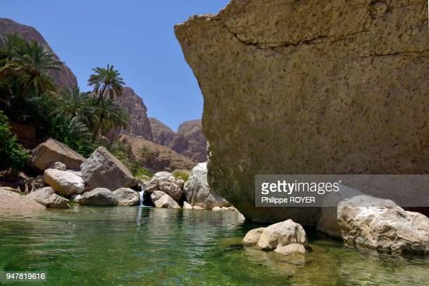 Le wadi Tiwi a Oman.