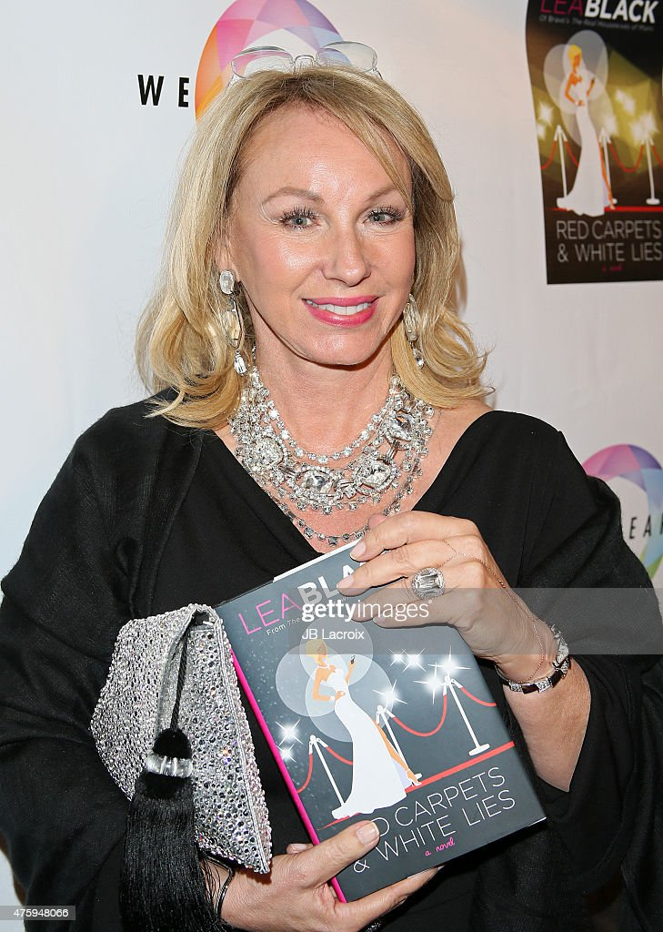 "Bravo's ""Real Housewife Of Miami"" Lea Black's Book Launch Party For ""Red Carpets & White Lies"" Hosted By Lisa Vanderpump"
