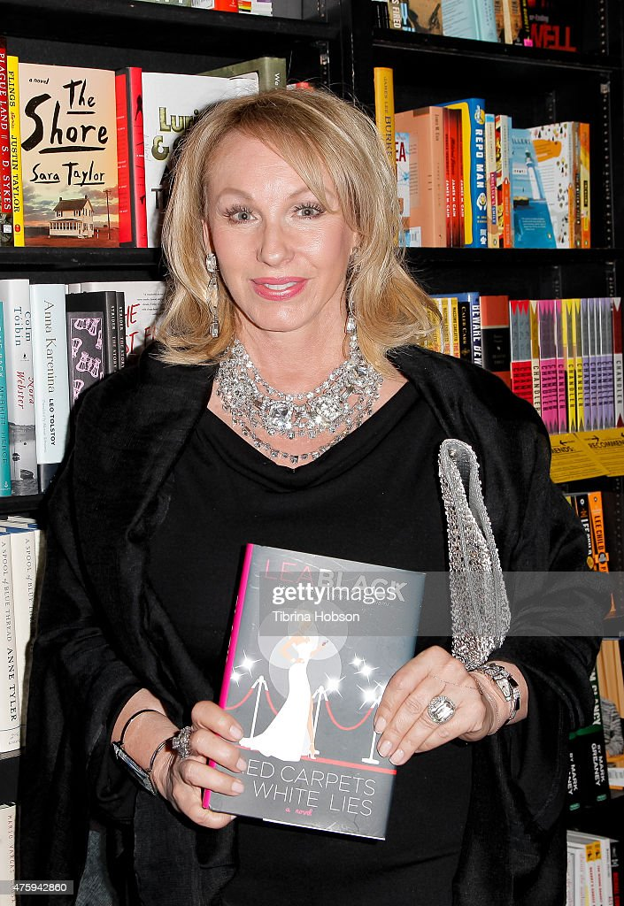 """Bravo's """"Real Housewife Of Miami"""" Lea Black Signs Copies Of Her New Book """"Red Carpets & White"""
