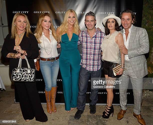 Lea BlackMarysol PattonAlexia EchevarriaAndy CohenAdriana De Moura and Frederic Marq attends Gilt City Celebrates The Launch Of Andy Cohen's New Book...