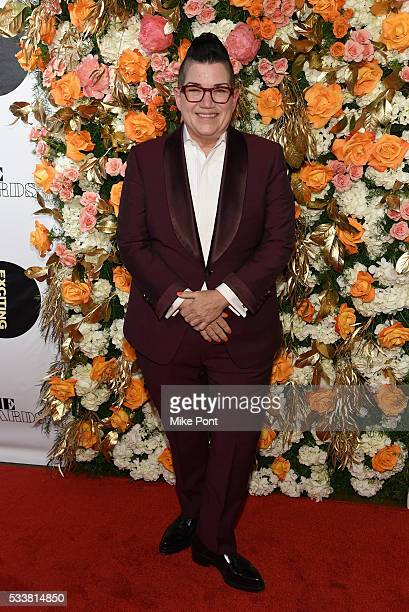Lea DeLaria attends the 61st Annual Obie Awards at Webster Hall on May 23, 2016 in New York City.