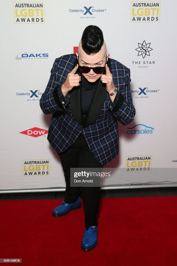 Lea DeLaria attends the Australian LGBTI Awards at The Star on March 2, 2018 in Sydney, Australia.