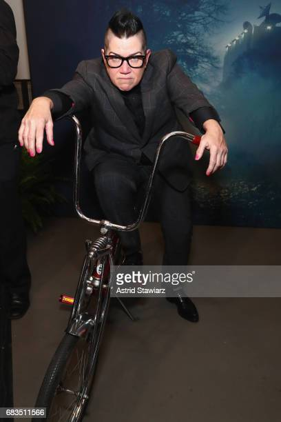 Lea DeLaria attends the Entertainment Weekly and PEOPLE Upfronts party presented by Netflix and Terra Chips at Second Floor on May 15, 2017 in New...