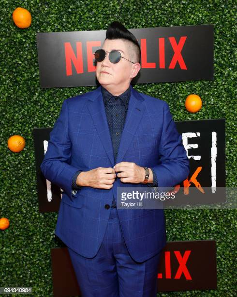 Lea DeLaria attends the Season 5 celebration of 'Orange is the New Black' at Catch on June 9 2017 in New York City