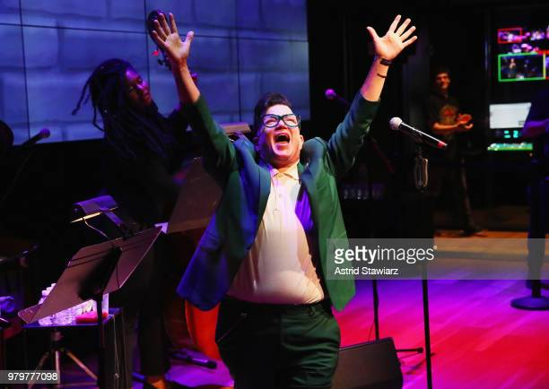 Lea DeLaria performs onstage during PRIDE PLACE at Samsung 837 Comedy Night with Lea DeLaria on June 20 2018 in New York City