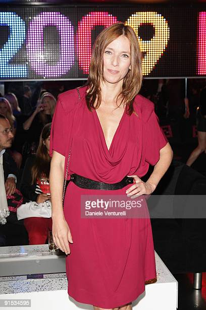 Lea Drucker attends Fendi 'O' party For Pixie Lott at the VIP ROOM Theater on October 6 2009 in Paris France