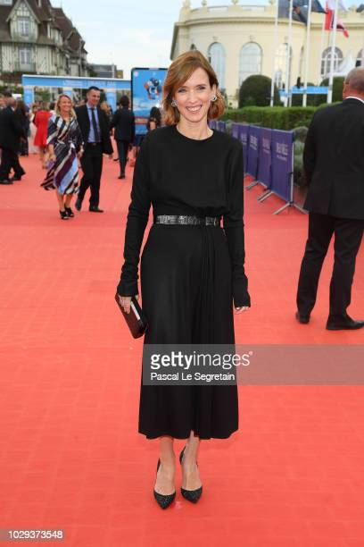 Lea Drucker attends the closing ceremony of the 44th Deauville American Film Festival on September 8 2018 in Deauville France