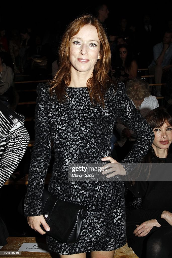 Lea Drucker attends the Viktor & Rolf Ready to Wear Spring/Summer 2011 show during Paris Fashion Week at Espace Ephemere Tuileries on October 2, 2010 in Paris, France.