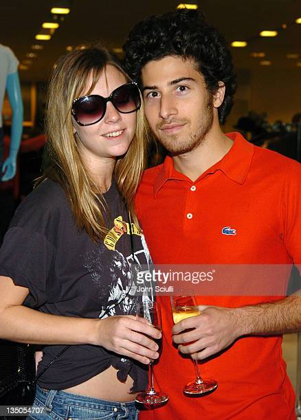 Lea Griffin and Jake Hoffman during 7 For All Mankind Denim Jeans Crystallized with Swarovski Release Party at Barneys in Beverly Hills California...