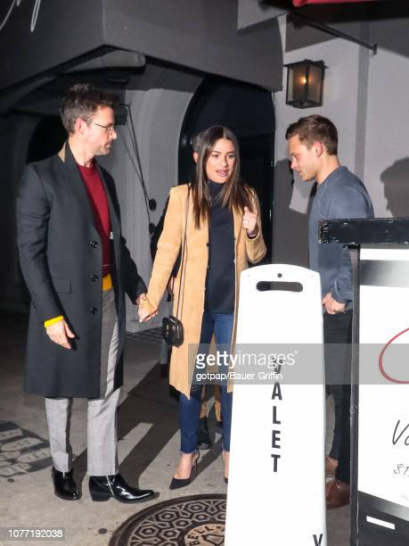 Lea Michele and Zandy Reich are seen on January 03 2019 in Los Angeles California