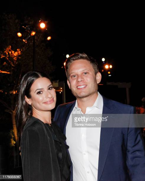 Lea Michele and Zandy Reich attend the Family Equality Los Angeles Impact Awards 2019 at a Private Residence on October 05, 2019 in Los Angeles,...