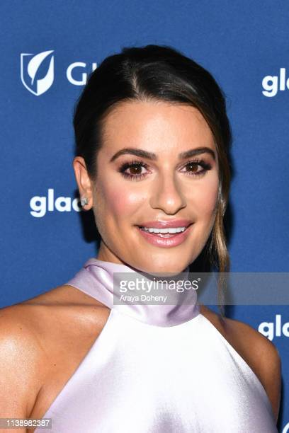 Lea Michele at the 30th Annual GLAAD Media Awards at The Beverly Hilton Hotel on March 28 2019 in Beverly Hills California