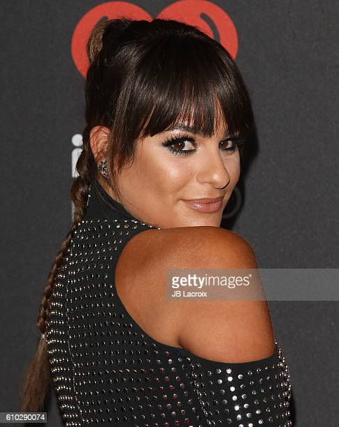 Lea Michele attends the 2016 iHeartRadio Music Festival at TMobile Arena on September 24 2016 in Las Vegas Nevada