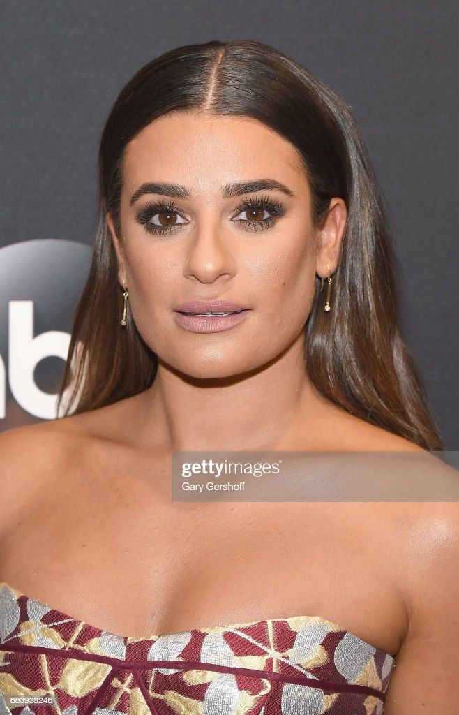 Lea Michele attends the 2017 ABC Upfront event on May 16, 2017 in New York City.