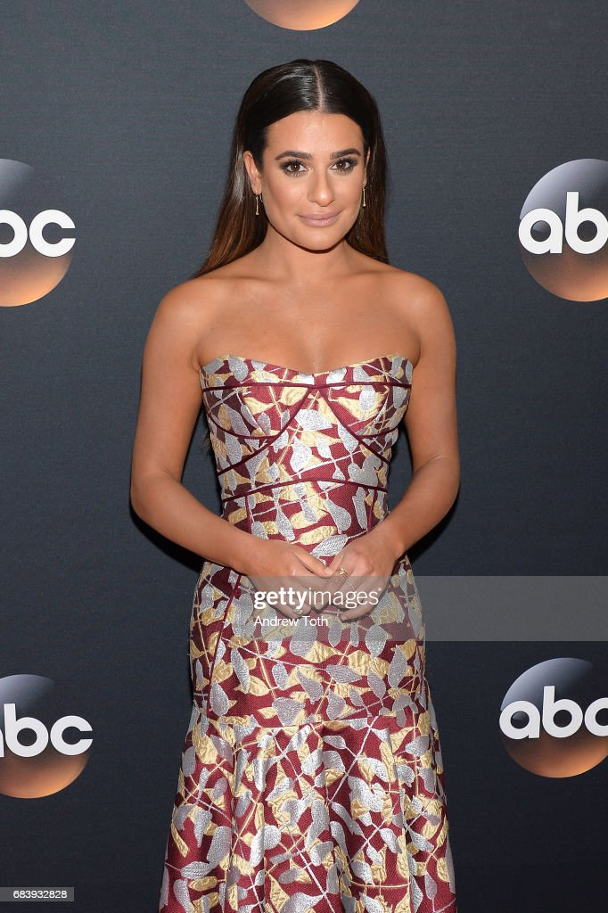 Lea Michele attends the 2017 ABC Upfront on May 16, 2017 in New York City.