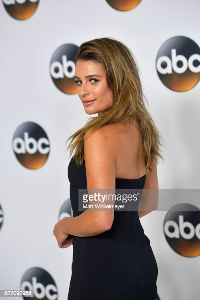 Lea Michele attends the 2017 Summer TCA Tour Disney ABC Television Group at The Beverly Hilton Hotel on August 6, 2017 in Beverly Hills, California.