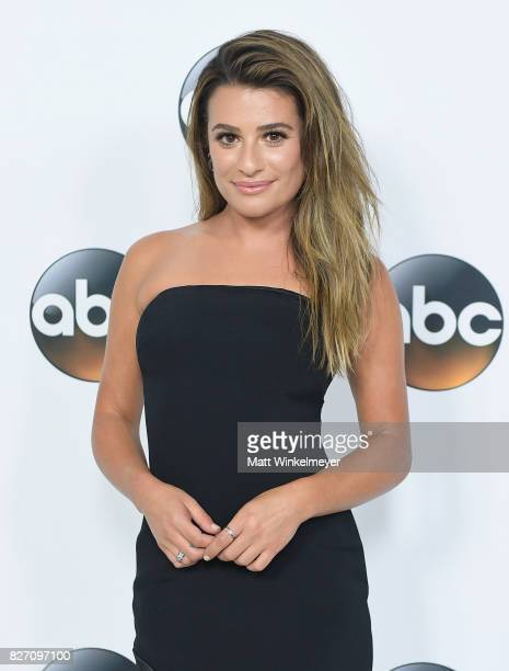 Lea Michele attends the 2017 Summer TCA Tour Disney ABC Television Group at The Beverly Hilton Hotel on August 6 2017 in Beverly Hills California