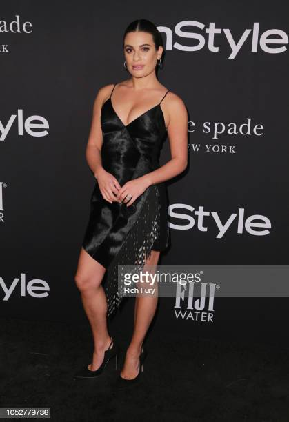 Lea Michele attends the 2018 InStyle Awards at The Getty Center on October 22, 2018 in Los Angeles, California.