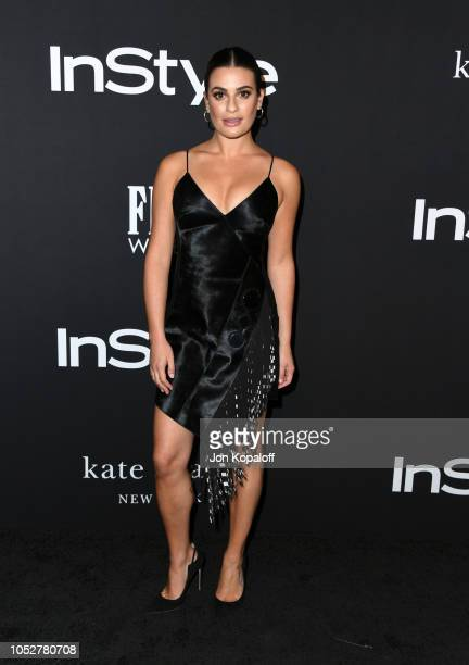 Lea Michele attends the 2018 InStyle Awards at The Getty Center on October 22 2018 in Los Angeles California