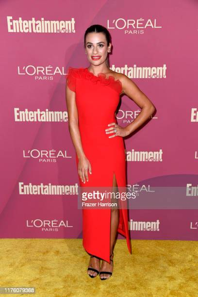 Lea Michele attends the 2019 Entertainment Weekly Pre-Emmy Party at Sunset Tower on September 20, 2019 in Los Angeles, California.