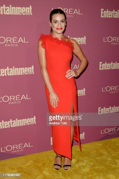 Lea Michele attends the 2019 Pre-Emmy Party hosted by Entertainment Weekly and L'Oreal Paris at Sunset Tower Hotel in Los Angeles on Friday,...