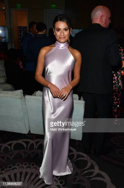 Lea Michele attends the 30th Annual GLAAD Media Awards Los Angeles at The Beverly Hilton Hotel on March 28 2019 in Beverly Hills California