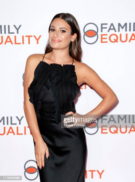 Lea Michele attends the Family Equality Los Angeles Impact Awards 2019 at a Private Residence on October 05 2019 in Los Angeles California