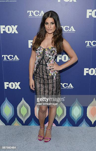 Lea Michele attends the FOX Summer TCA Press Tour on August 8 2016 in Los Angeles California