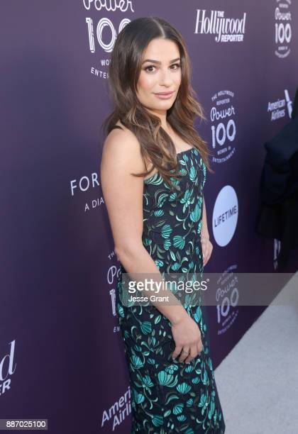 Lea Michele attends The Hollywood Reporter's 2017 Women In Entertainment Breakfast at Milk Studios on December 6 2017 in Los Angeles California