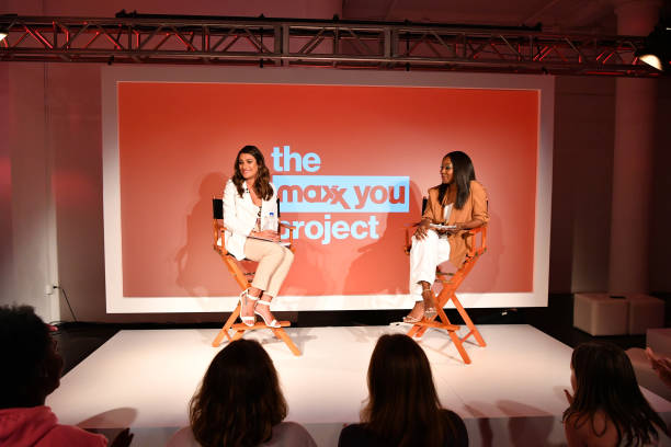 """NY: Lea Michele Headlines T.J.Maxx's """"The Changing Room"""" Pop-up Event As Part Of The Maxx You Project"""