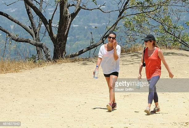 Lea Michele is seen in Los Angeles on July 02 2014 in Los Angeles California